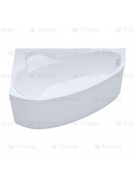 Ванна Triton Пеарл-шелл 160*104 правая с каркасом