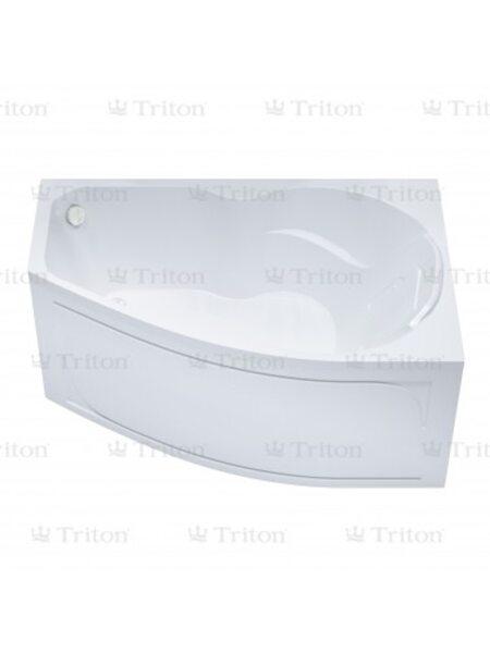 Ванна Triton Лайма 160*95  левая с каркасом