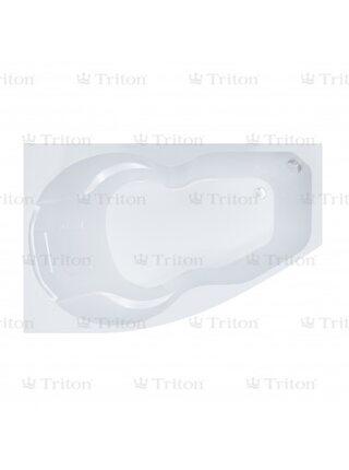 Ванна Triton Лайма 160*95  правая с каркасом