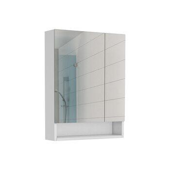 Шкаф-зеркало Loko 60 Домино DLk1407HZ