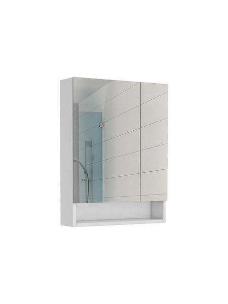 Шкаф-зеркало Loko 55 Домино DLk1406HZ