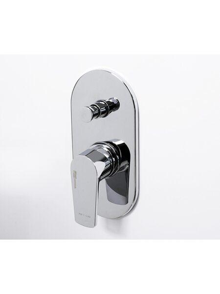 Смеситель для ванны и душа встроенный Dill 6161 WasserKraft