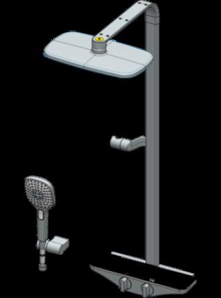 Душевая система 7590U-11 Oras Esteta