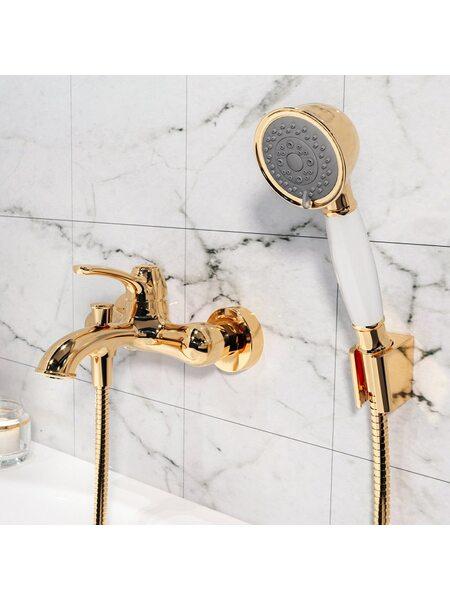 Смеситель для ванны Oldie, золото IDDIS OLDYG00i02