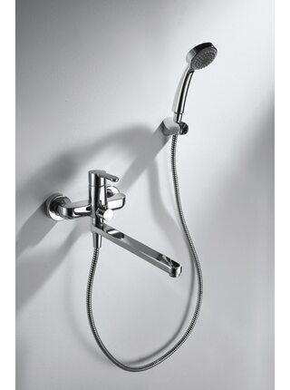 STREAM Смеситель для ванны Bravat F63783C-LB