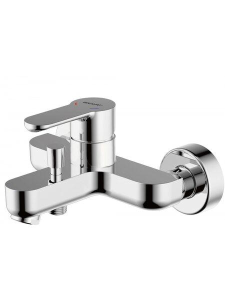 STREAM Смеситель для ванны без аксессуаров Bravat F63783C-01A