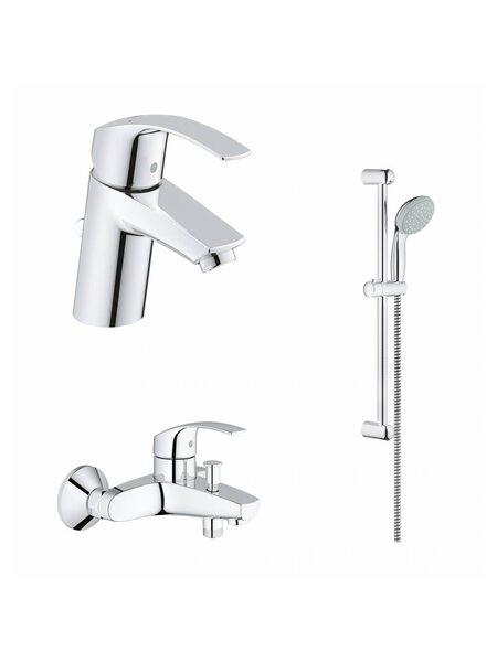 Набор смесителей для ванны Eurosmart 124446 (33265002+33300002+27853000) Grohe