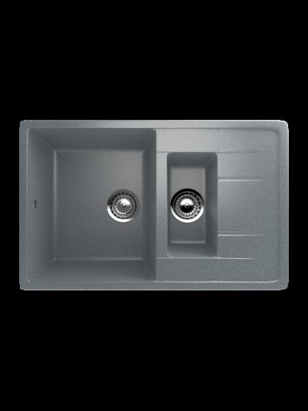 Мойка EcoStone 770Х495 (ES-22) темно-серый