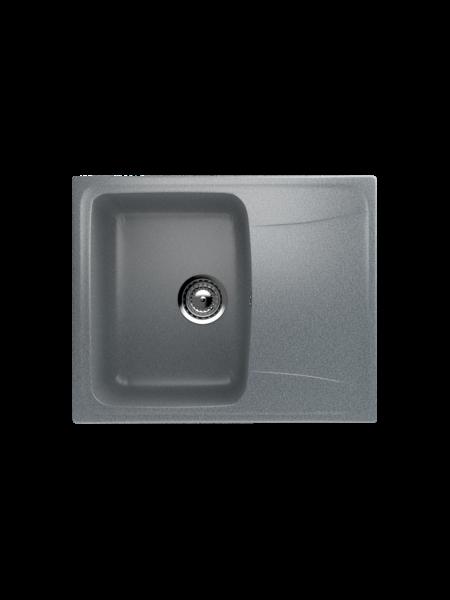 Мойка EcoStone 580Х470 (ES-26) темно-серый