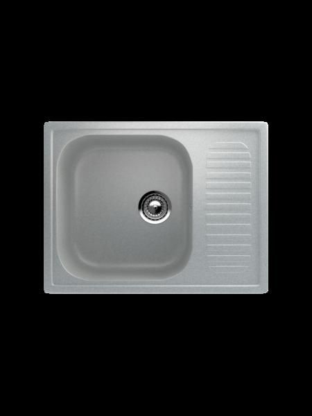 Мойка EcoStone 640Х490 (ES-18) серый