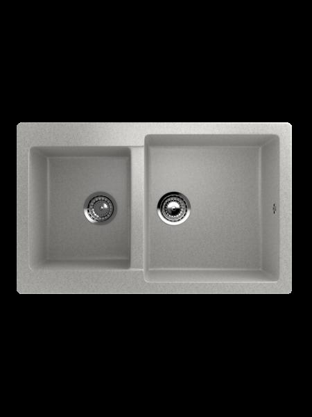 Мойка EcoStone 770Х500 (ES-28) серый