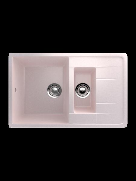 Мойка EcoStone 770Х495 (ES-22) светло-розовый