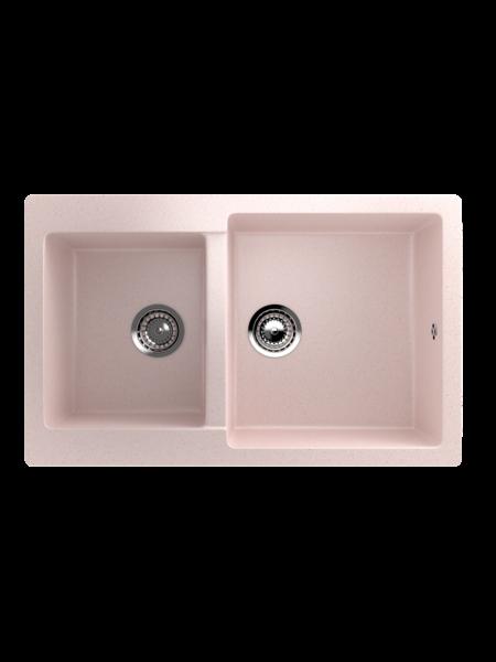 Мойка EcoStone 770Х500 (ES-28) светло-розовый