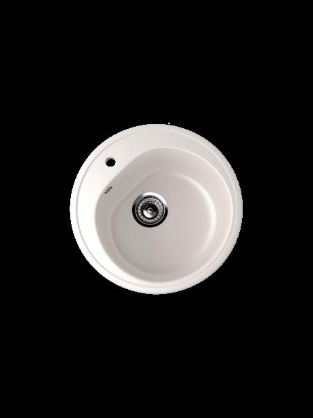 Мойка EcoStone d 500 (ES-11) белый