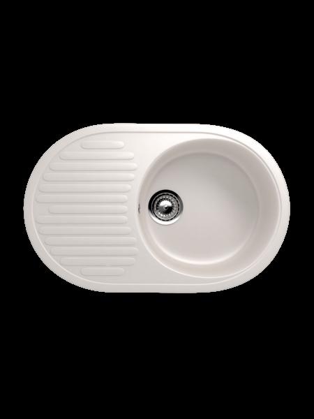 Мойка EcoStone 720Х455 (ES-16) белый