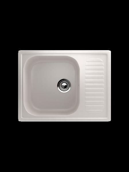 Мойка EcoStone 640Х490 (ES-18) белый