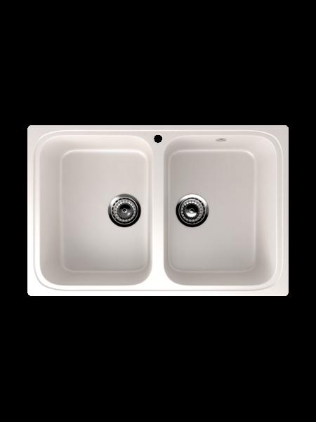 Мойка EcoStone 775х495 (ES-23) белый