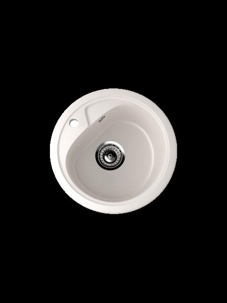 Мойка EcoStone d 440 (ES-10) белый