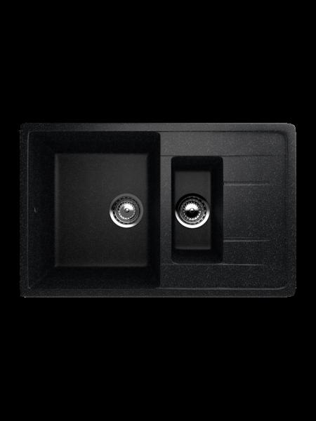 Мойка EcoStone 770Х495 (ES-22) черный
