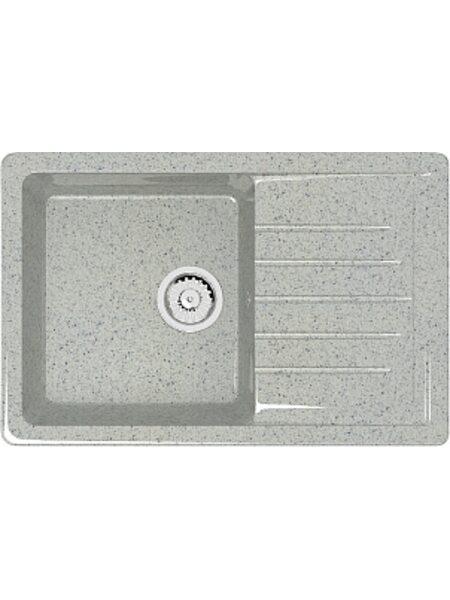 Мойка прямоугольная (495х755х200) Энди Z16Q10 (светло серый)