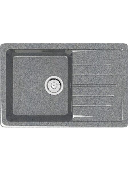Мойка прямоугольная (495х755х200) Энди Z16Q8 (темно серый)