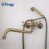 F2619-4 Смеситель для ванны, бронза FRAP