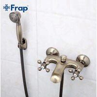 F3019-4 Смеситель для ванны, бронза FRAP