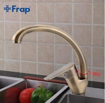 F4130-4 Смеситель для кухни, бронза FRAP