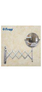 F6406 косметическое зеркало с увеличением настенное FRAP