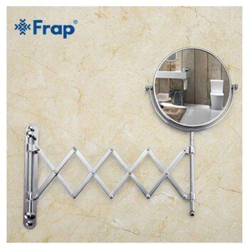 F6408 косметическое зеркало с увеличением настенное