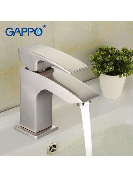 G1007-5 Смеситель для раковины, сатин GAPPO