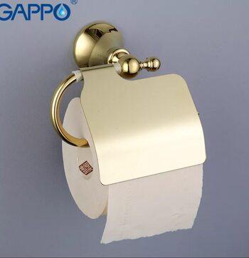 G1403 Бумагодержатель. золото GAPPO