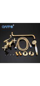 G2263-6 Смеситель для ванны, позолоченный GAPPO