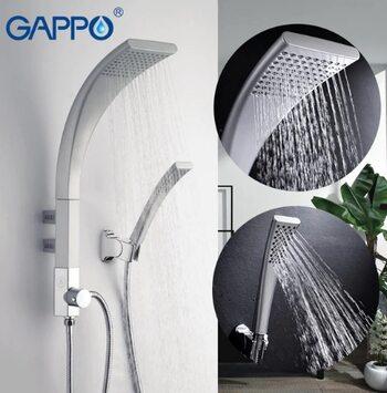 G2414 Душевая система, матовый/хром GAPPO