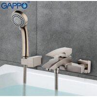 G3007-5 Смеситель для ванны, сатин GAPPO