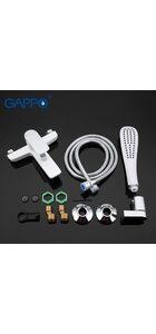 G3048 Смеситель для ванны, белый/хром GAPPO