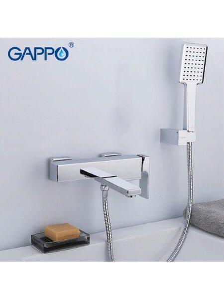 G3218 Смеситель для ванны, хром  GAPPO