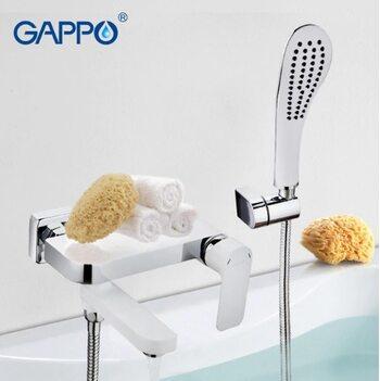 G3248 Смеситель для ванны, белый/хром GAPPO