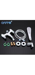 G3249 Смеситель для ванны, белый/хром GAPPO