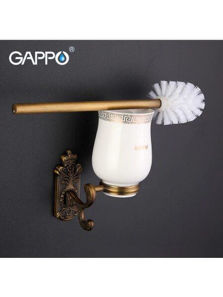 G3610 ершик настенный бронза GAPPO