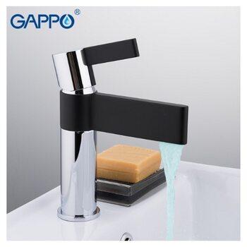 G1081 Смеситель для раковины, черный GAPPO