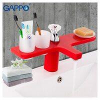 G1096-7 Смеситель для раковины, красный GAPPO
