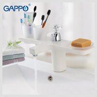 G1096-8 Смеситель для раковины, белый GAPPO