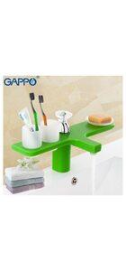 G1096-9 Смеситель для раковины, зеленый GAPPO