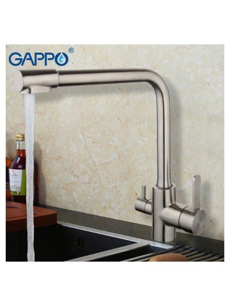 G4399-1 Смеситель для кухни с фильтром д/питьевой воды GAPPO