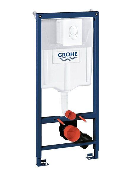 Система инсталляции GROHE Rapid SL с панелью смыва Skate Air, альпин-белый (38722001)