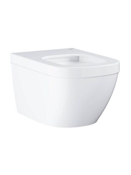 Подвесной безободковый унитаз GROHE Euro Ceramic (без сиденья), альпин-белый (39328000)