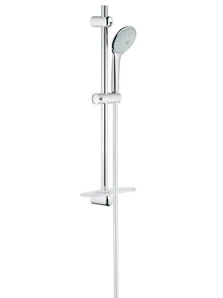 Душевой гарнитур GROHE Euphoria (ручной душ, штанга 600 мм, шланг 1750 мм), хром (27266001)