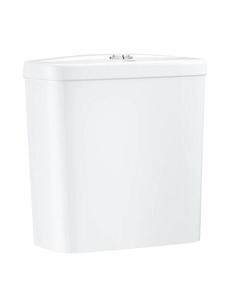 Смывной бачок для унитаза GROHE Bau Ceramic, подводка снизу, альпин-белый (39436000)