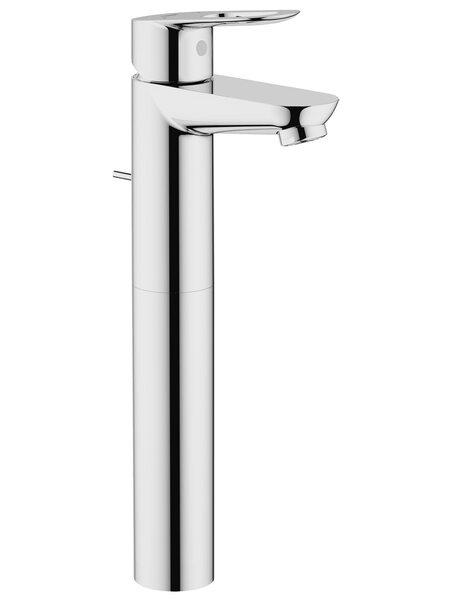 Смеситель для раковины GROHE BauLoop с донным клапаном, свободностоящий, хром (32856000)